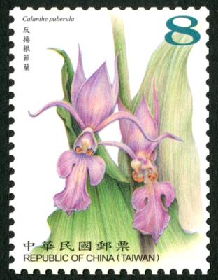 常 146.2 臺灣野生蘭花郵票(續)
