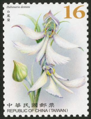 常 146.5  臺灣野生蘭花郵票(續2)